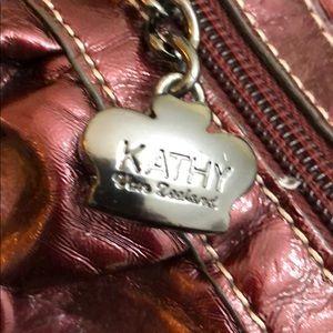 Kathy Van Zeeland Bags - Burgundy Kathy Van Zeeland pocketbook